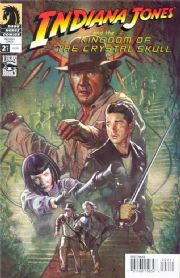 Indiana Jones Kingdom Of The Crystal Skull #2 Fleming Cover A (2008) Dark Horse comic book